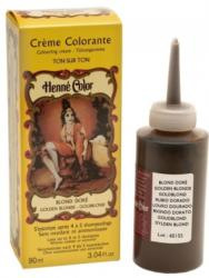 HENNE COLOR - CRÈME SOIN COLORANTE HAUTE PROTECTION ET SOIN - Blond Rayonnant -100 mL